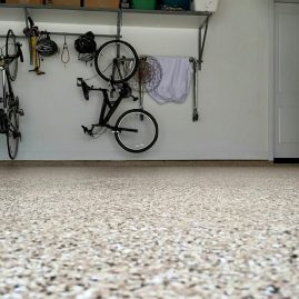 Garage Flooring & Shelves